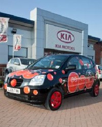 Kia UK Pimp My Part-Ex Red Nose Day 2011