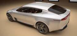 Kia sports saloon concept 2011