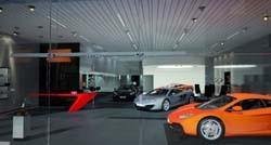 McLaren showroom concept