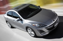 The new Mazda3 saloon