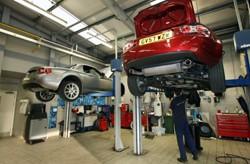Mazda accident repair centre