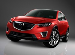 Mazda Minagi  concept and a first look at what the CX-5 will look like