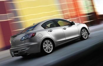Mazda3 rear shot