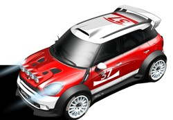 Mini Countryman WRC design sketch