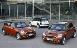 Mini 2011 facelift range