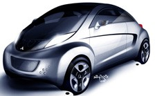 Misubishi i Miev Sport Air concept
