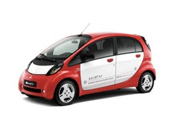 Mitusbishi iMiev with new European specification