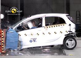 Mitsubishi i-Miev crash test