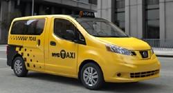 Nissan NV200 NYC taxi