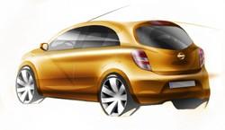 Nissan global compact car 2010