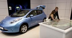 Nissan Leaf Innovation Station