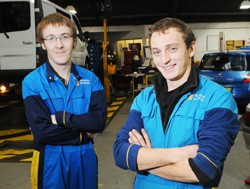 Scott Smith and Phil Hamblin