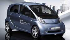 Peugeot Ion Electric Car