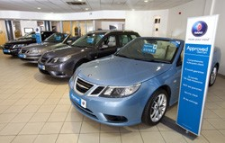 Saab approved used cars
