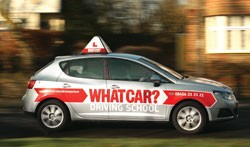 What Car? driving school Seat Ibiza