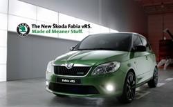 New Skoda Fabia vRS marketing campaign