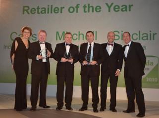 Skoda Retailer of the Year awards 2011