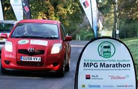 Toyota Yaris MPG marathon
