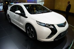 The production ready version of the new Vauxhall Ampera