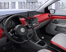 VW Up interior 2011