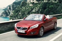Volvo C70 coupe cabriolet 2010