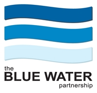 blue water partnership logo