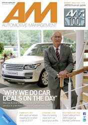 AM - Automotive Management magazine cover December 2014