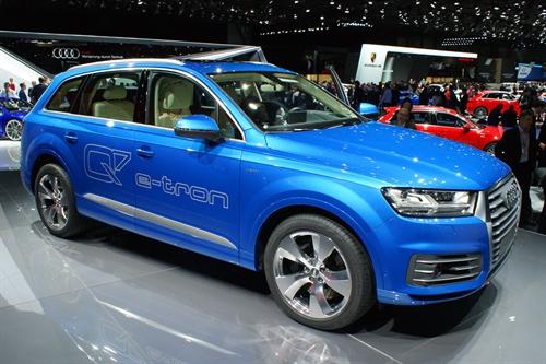 Audi Q7 Geneva Motor Show