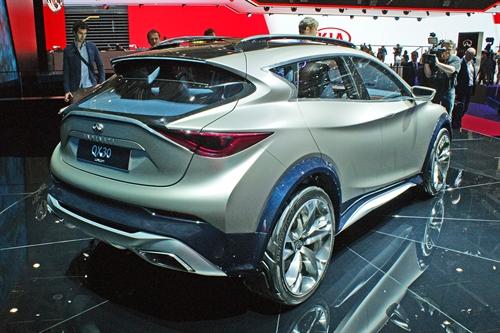 Infiniti QX30 Geneva Motor Show