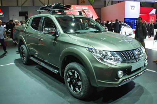 Mitsubishi L200 Geneva Motor Show 2015