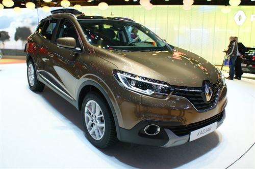 Renault Kadjar Geneva Motor Show 2015