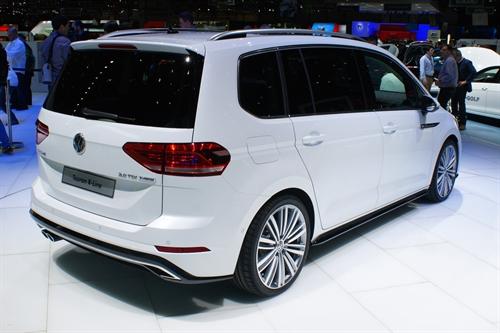 Volkswagen Touran Geneva Motor Show 2015