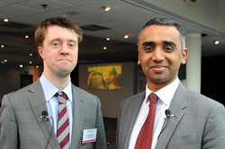 Stuart Bluck, head of research & insight and Rakesh Patel, digital sales director, Auto Trader
