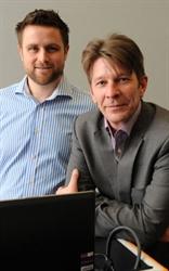 Berian Reed, Auto Trader head of performance marketing & Antony Robinson, Auto Trader head of search & social media