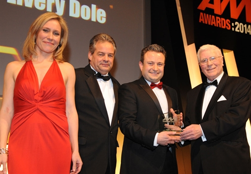 L-R: Sophie Raworth, Livery Dole aftersales manager Richard Curle, managing director designate Hayden Williams and Jewelultra's John Boseley