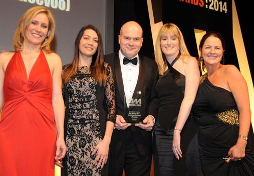 L-R: Sophie Raworth, Kia Motors' Amy Rodricks, John Bache, Kim Wiggins and Auto Trader's Sharon Randall